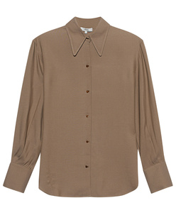 VINCE. Stone Button Brown