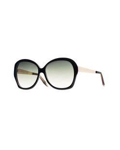 VICTORIA BECKHAM EYEWEAR VBS4 Happy Butterfly Black Gold
