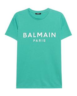 BALMAIN Logo Wording Jade