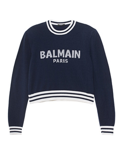 BALMAIN Wording Marine Blue