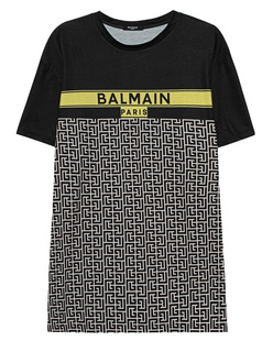 BALMAIN Oversized Printed Black
