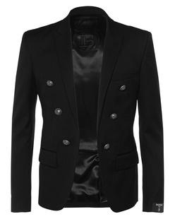 BALMAIN 6BTN Collection Fit Black