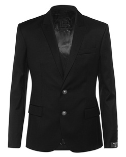 BALMAIN 2BTN Collection Fit Black