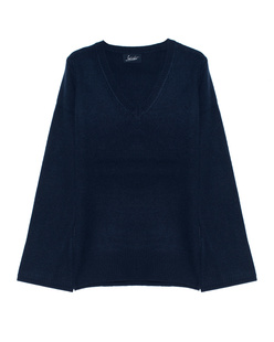 JADICTED  V Neck Cashmere Blue