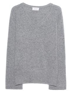 JADICTED Cashmere V Neck Grey