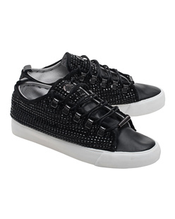 Black Dioniso Low Swarovski Black