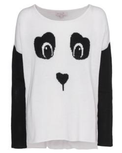 Rosa von Schmaus Panda Knit Black White