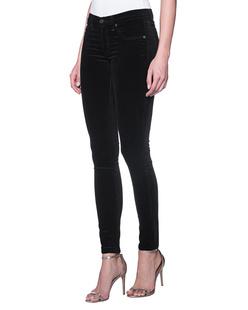 RAG&BONE Skinny Velvet Black