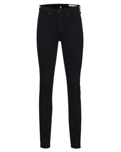 RAG&BONE High Rise Skinny Coal Black