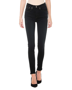 RAG&BONE High Rise Skinny Dark Blue