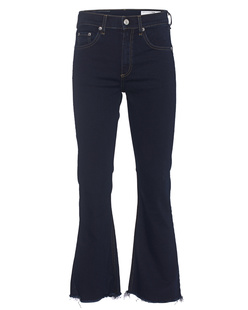 RAG&BONE Dune Crop Flare Dark Blue