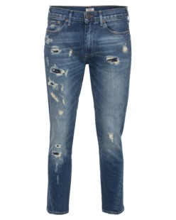 TRUE RELIGION Nu Boy Slim Boyfriend Twist Blue