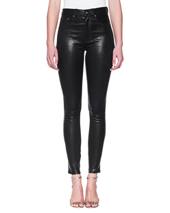 RAG&BONE Leather High Waist Skinny