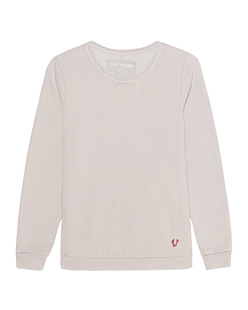TRUE RELIGION Crew Sweat Moonwash Silver Grey