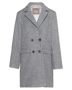 TRUE RELIGION Women´s Coat Heather Grey