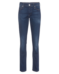 TRUE RELIGION Liv Low Rise Relaxed Skinny Ballad Blu