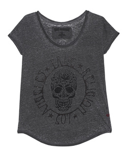 TRUE RELIGION Loose Skull Jet Black