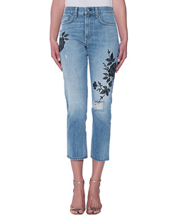 RAG&BONE Marylin Crop Ramona Embroidery