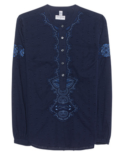 TRUE RELIGION Festival Embroidery Dark Denim