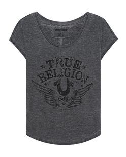 TRUE RELIGION Rhinstone Calif. Le Black