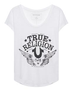 TRUE RELIGION Rhinstone California White