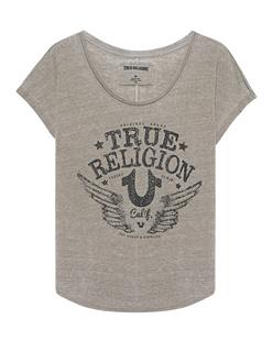 TRUE RELIGION Rhinstone Calif. Le Dusty Olive