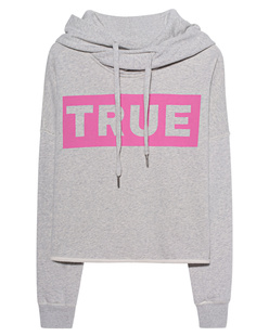 TRUE RELIGION Statement Hoodie Grey