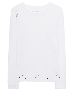 TRUE RELIGION Cut Out White