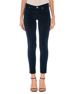 TRUE RELIGION Halle Velvet Solid Navy