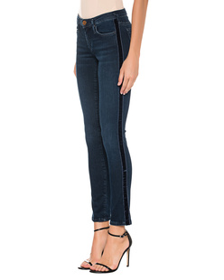 TRUE RELIGION Halle Velvet Stripe Blue