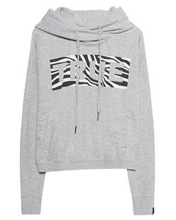 TRUE RELIGION Cropped Block Zebra True Grey