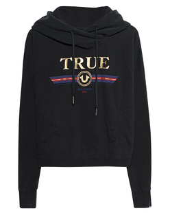 TRUE RELIGION Cropped Block True Black