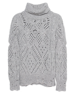 TRUE RELIGION Turtle Knit Grey