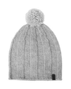 TRUE RELIGION Knit Pom Pom Grey