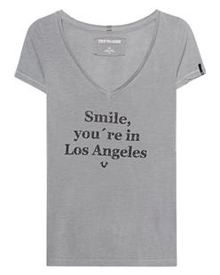 TRUE RELIGION Smile Limestone Grey