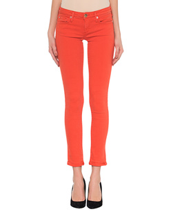 TRUE RELIGION Halle Overdyed Scarlett Red