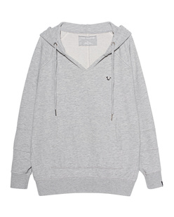 TRUE RELIGION Horseshoe Hoodie Grey