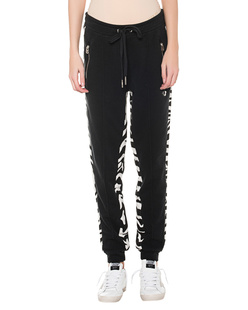 TRUE RELIGION Sweatpant Zebra Black
