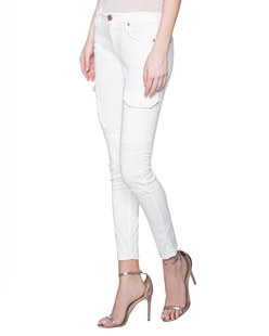 TRUE RELIGION Halle Cargo White
