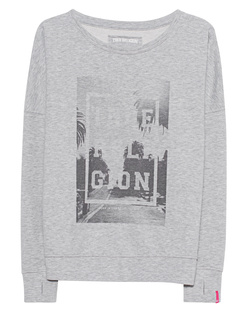 TRUE RELIGION Oversized Palms Grey