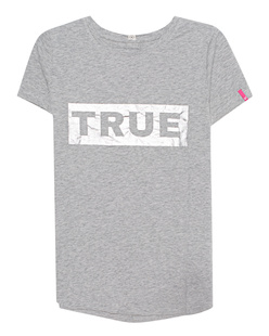 TRUE RELIGION Boxy Foil Grey