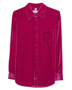 TRUE RELIGION Blouse Velvet Pink