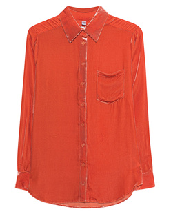 TRUE RELIGION Velvet Blouse Orange