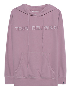 TRUE RELIGION Hoodie Crew Fleece Rose