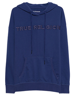 TRUE RELIGION Hoodie Crew Fleece Lilac