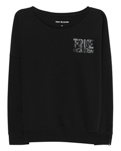 TRUE RELIGION Crew True Black