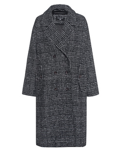 TRUE RELIGION Oversized Check Black