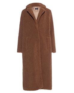 TRUE RELIGION Long Coat Cognac