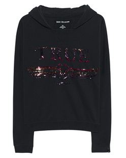 TRUE RELIGION Sequins Cosy Black