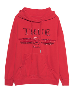 TRUE RELIGION Sequins Cosy Red
